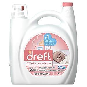 Dreft Stage 1: Newborn Liquid Laundry Detergent , 150 oz, 96 loads