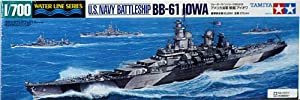 Tamiya 1/700 U.S. Battleship Iowa BB-61
