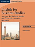 English for Business Studies Teacher's Book: A Course for Business Studies and Economics Students