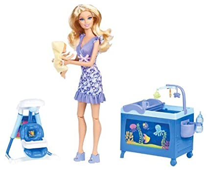Barbie I Can Be Baby Sitter Playset by Mattel TOY (English Manual)