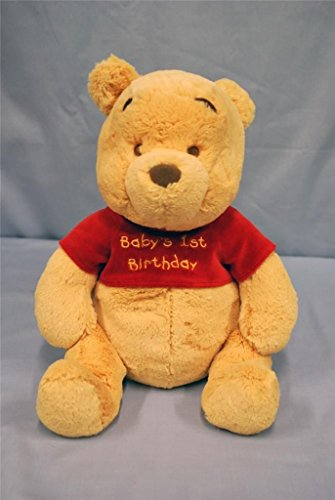 Super Soft Baby's 1st Birthday Winnie the Pooh Jingle Plush - 1