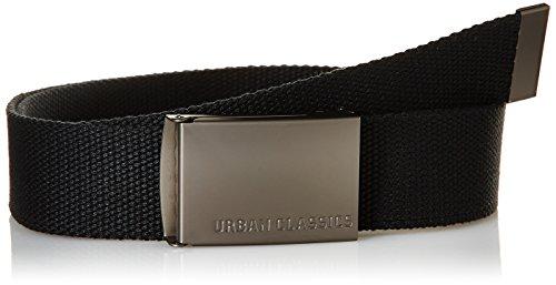 Urban Classics - Gürtel, Cintura Uomo, Nero (Black), Taglia unica (Taglia Produttore: One Size)
