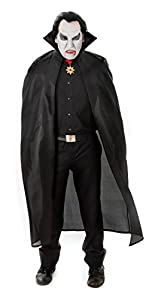 """56"""" Black Cape - Adult Accessory Adult - One Size"""