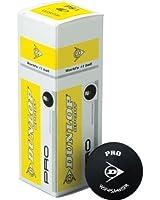 Dunlop Lot de 3 balles de squash Différents coloris disponibles