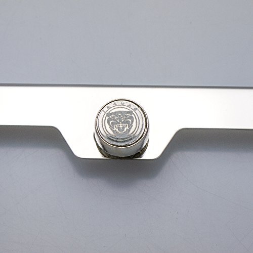 100 stainless steel jaguar laser engrave chrome mirror for Mirror 0 zfs