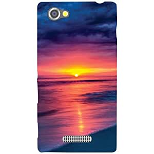Sony Xperia M Back Cover - Sunset Mode Designer Cases