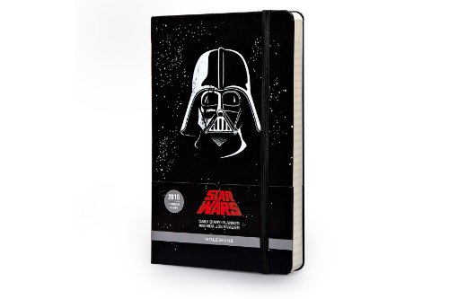 Moleskine 2015 Star Wars Limited Edition Daily Planner, 12 Month, Large, Black, Hard Cover (5 x 8.25) (Moleskine Star Wars)