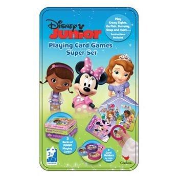 Disney Junior Playing Card Games Super Set Tin by Cardinal