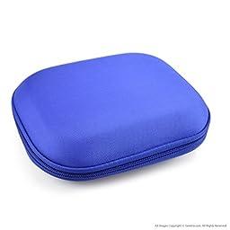 SONY MDR-ZX100, ZX300, ZX310, ZX400, XB200, ZX102DPV Headphone Carrying Case/Bag (Blue)