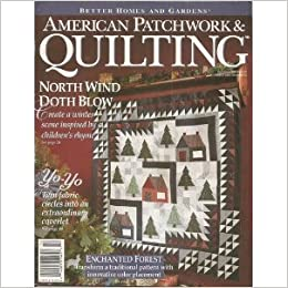 Better Homes And Gardens American Patchwork Quilting Magazine December 1994 Issue 11 Bh G