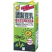 【猫】マルサン 調整豆乳 1000ml 6本入×2ケースセット