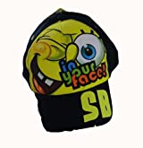 Spongebob Baseball Cap - Spongebob Square Pants Hat (Black)
