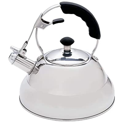Chef's Secrete 2.75qt Surgical Stainless Steel Tea Kettle with Copper Capsule Bottom