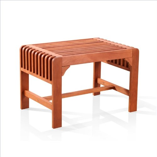 Vifah V1398 Backless Single Bench