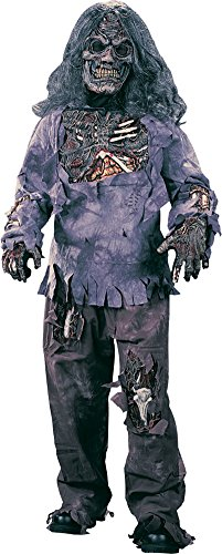 boys - Zombie Complete Child Lg Halloween Costume - Child Large