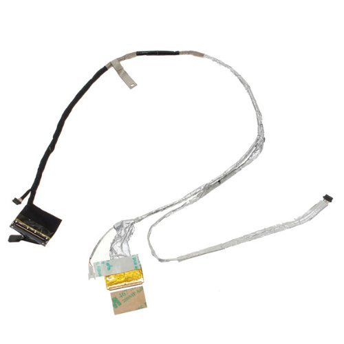 New Lcd Lvds Display Flex Video Cable For Hp Pavilion Dv6-6013Cl Dv6-6020Ca Dv6-6033Cl Dv6-6040Ca Dv6-6047Cl Dv6-6051Xx Dv6-6070Ca Dv6-6090Us Dv6-6091Nr Dv6-6096Nr Dv6-6097Nr Dv6-6104Ca Dv6-6104Nr Dv6-6106Nr Dv6-6108Us Dv6-6110Us Dv6-6111Nr Dv6-6112Nr Dv6