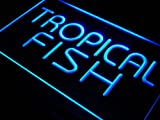 ADV PRO j435-b Tropical Fish Shop Display Lure Neon Light Sign