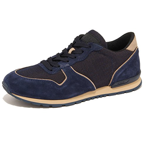 7761N sneaker TOD'S ACTIVE blu scarpe uomo shoes men [11]