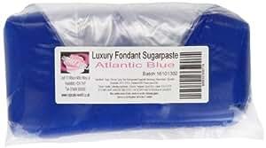 Cupcake World Fondant Sugarpaste Cake Icing Atlantic Blue 1 Kg
