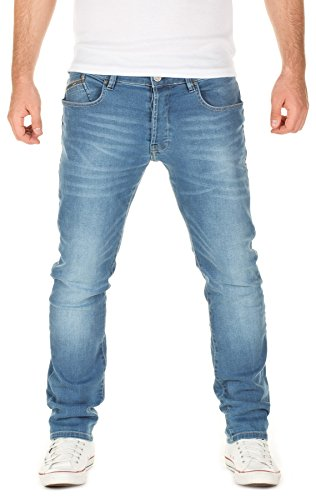 YAZUBI Uomo Jeans Aaron slim fit, federal blue (4029), W30/L34