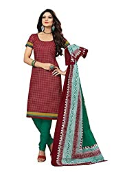 Kesar Sarees Women Cotton Dress Material (Bc-5055 _Multi-Coloured _Free Size)