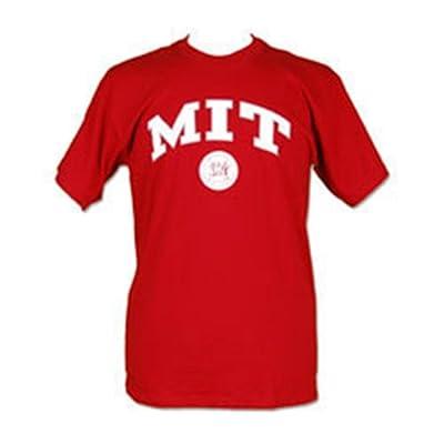 Massachusetts Engineers Arch and Logo Short Sleeve T-shirt (Maroon) (Medium)
