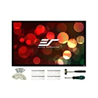 Elite Screens ezFrame2 Series  110-inch Diagonal 16:9  Fixed Frame Home Theater Projection Screen  Model: R110WH2<br />