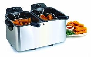MaxiMatic EDF-4080 Elite Platinum Stainless-Steel 8 - Quart Deep Fryer