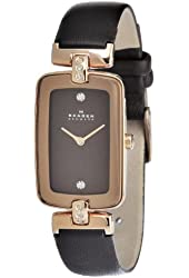 Skagen Women's H01SRLD Quartz Stainless Steel Brown Dial Watch