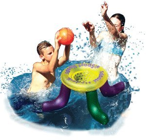 POOLMASTER SPORT HOOPS WATER GAME INFLATABLE POOL GAME