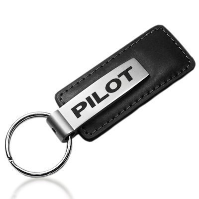 honda-pilot-black-leather-key-chain