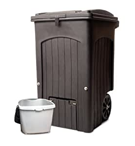 Amazon Com Toter 035564 R1cgr Wheeled Composter Kit With