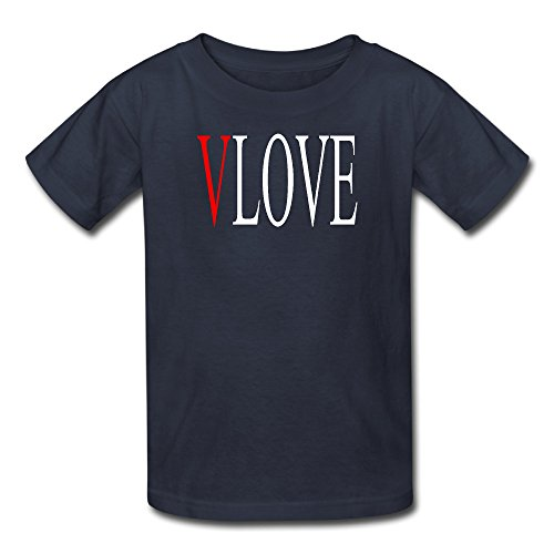 [Sunflower Youth Tee Entertainment V And Love Accompanied Navy SizeS] (Alan Wake Costume)