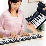 送料無料★送料無料★電子ピアノが丸められるシートに♪どこでもピアノ演奏『うきうきロールピアノ(楽器)』