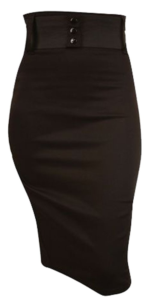 Switchblade Stiletto WAIST PENCIL SKIRT 0