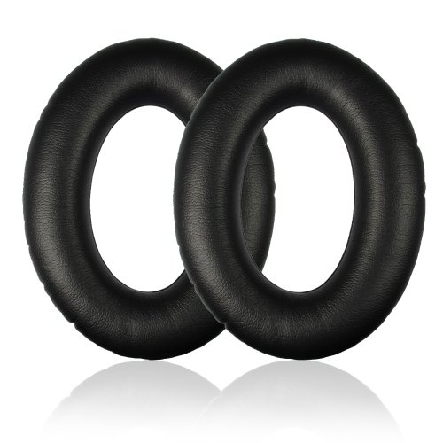 Replacement Earpad Ear Pad Cushions & Inner Foam Mats For Bose Ae2 Ae2I Ae2W Headphone (Black)