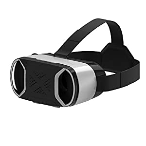 VersionTech VRX05 4th Gen Virtual Reality VR Headset Goggles for Samsung Galaxy S7 Edge/S7/Note 4 iPhone 7 Plus/7/6 Plus/6/6S and Other Smartphone