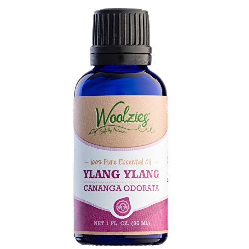 Woolzies best quality 100% pure Ylang ylang essential oil, therapeutic grade, 1 fl oz