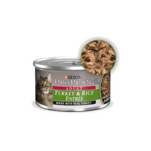 Pro Plan Cat Turkey Rice Entree Canned Food