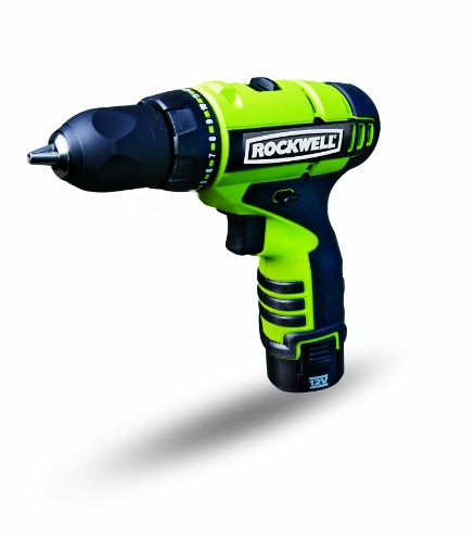 Rockwell RK2510K2 12-Volt LithiumTech Drill