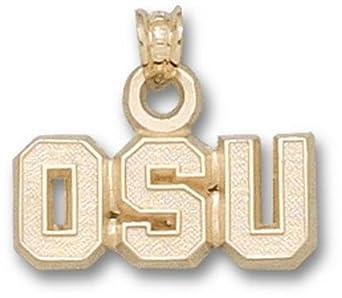 Oregon State Beavers OSU Pendant - 14KT Gold Jewelry by Logo Art