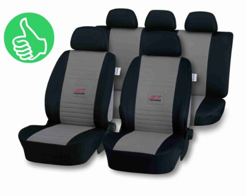 Universal-Schonbezug-Sitzbezug-GT-TURBO-silber-fr-Ford-Mondeo-alle-Modelle-Kuga-StreetKa-Street-Ka