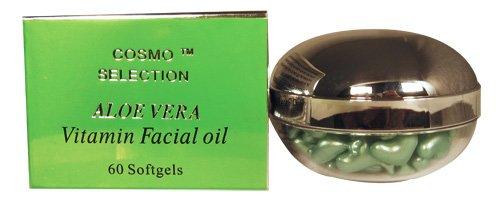 Vitamin Facial Oil With Aloe Vera (60 Softgels)
