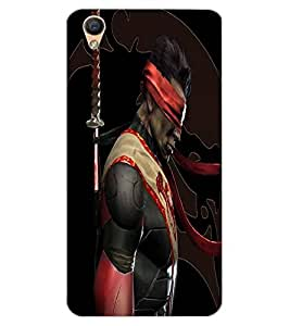 ColourCraft The Fighter Design Back Case Cover for OPPO R9