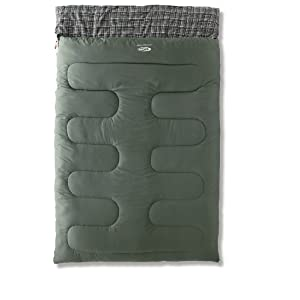 fe2c9bc313 Gelert Lakeside Double Sleeping Bag with Hood