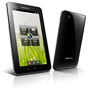 Lenovo A1 17,8 cm (7 Zoll) Tablet-PC (TI 3622, 1GHz, 512MB RAM, 16GB Flash Speicher, Android OS) schwarz