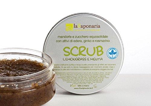 Scrub BIO lemongrass e menta - La Saponaria