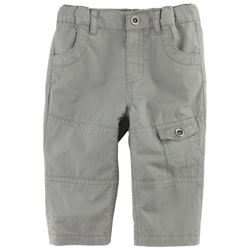 3Pommes Baby Boy's Crisp Poplin Trousers Khaki 12 Months