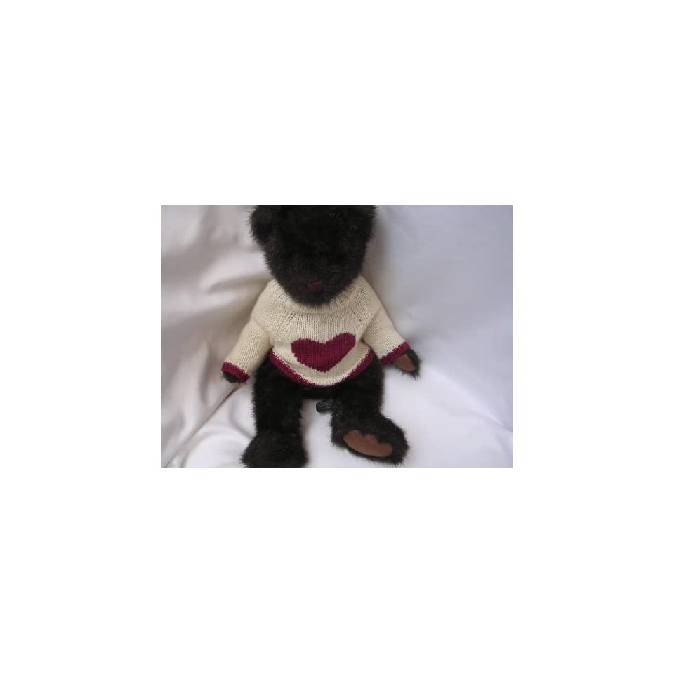 Cappuccino Teddy Bear 15 Plush Toy Collectible ; Valentines Day