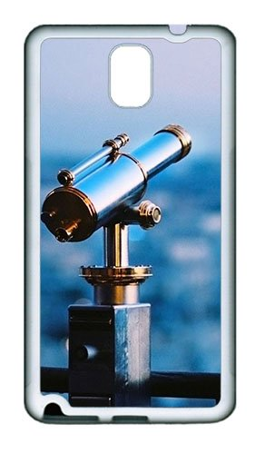 Samsung Galaxy Note 3 N9000 Case And Cover -Astronomical Telescope Tpu Silicone Rubber Case Cover For Samsung Galaxy Note 3 N9000¨C White